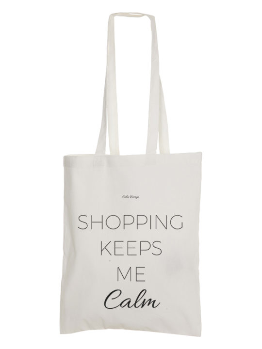 Mulepose - Shopping keeps me calm - Calm Design