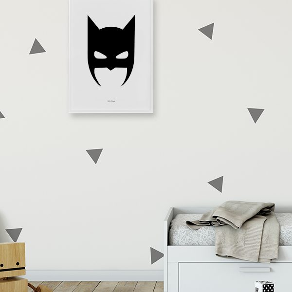 Batman – plakat - sort – A4