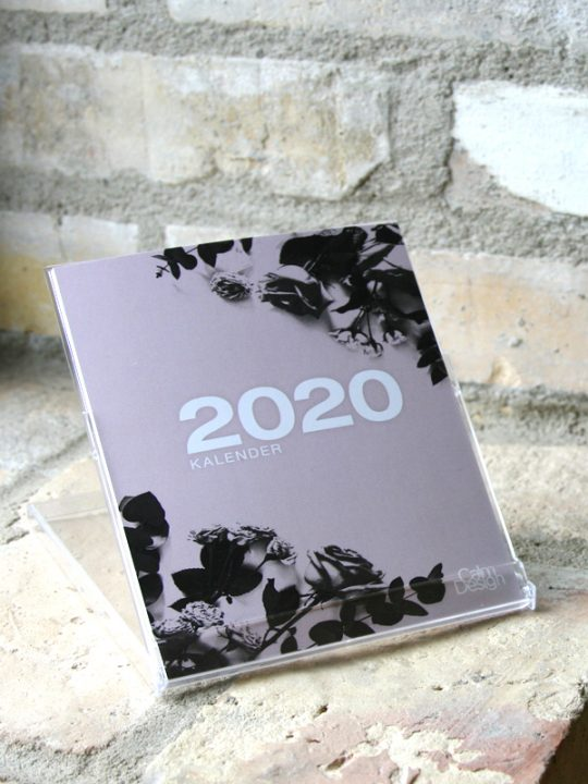Calm Design Kalender 2020
