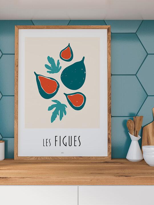Calm Design - Les Figues - Plakat