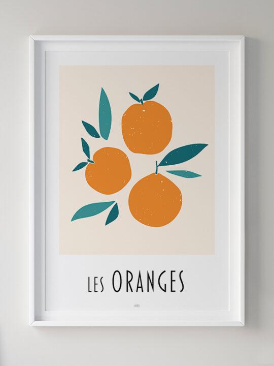 Calm Design - Les Oranges - Plakat