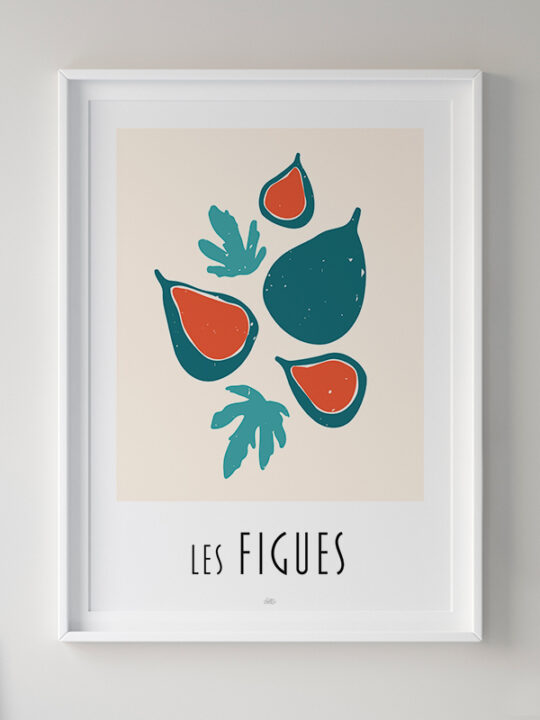 Calm Design - Les Figues - Plakat